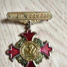 Trofeos y medallas: MEDALLA PREMIO AL MERITO RDO. DEL COLEGIO. Lote 165563498