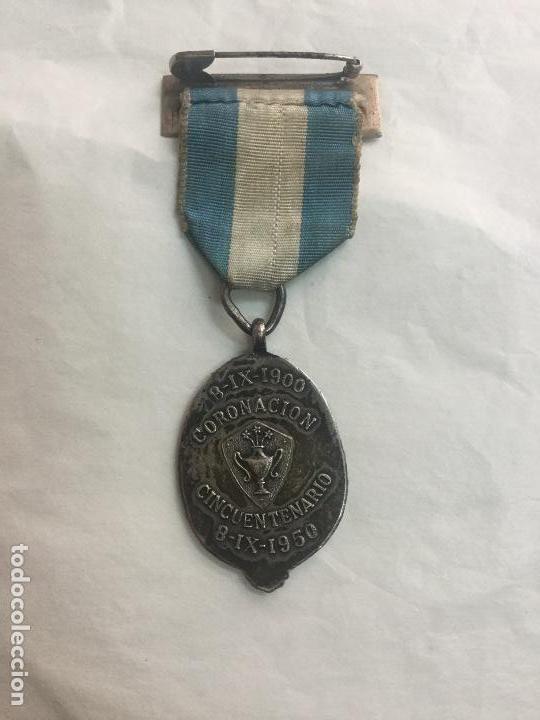 Trofeos y medallas: MEDALLA VIRGEN DE BEGOÑA CINCUENTENARIO DE LA CORONACION 1900-1950 - Foto 3 - 166010730