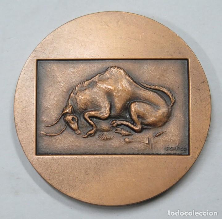 RARA MEDALLA. 25 ANIVERSARIO ALTAMARIA INDUSTRIA GRAFICA. MADRID (Numismática - Medallería - Trofeos y Conmemorativas)