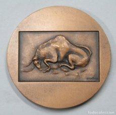 Trofeos y medallas: RARA MEDALLA. 25 ANIVERSARIO ALTAMARIA INDUSTRIA GRAFICA. MADRID. Lote 167244240