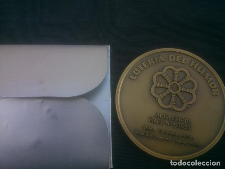 Trofeos y medallas: Lotería del Humor de LA COLEGIATA DE TORO (Zamora) - Foto 2 - 167582962