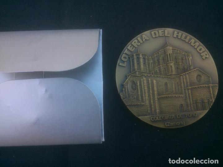 LOTERÍA DEL HUMOR DE LA COLEGIATA DE TORO (ZAMORA) (Numismática - Medallería - Trofeos y Conmemorativas)