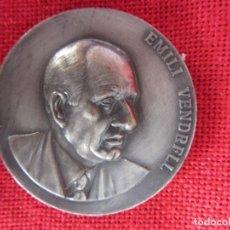 Trofeos y medallas: MEDALLA CONMEMORATIVA EMILI VENDRELL. 1970. Lote 169236708