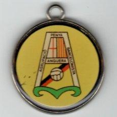 Trofeos y medallas: MEDALLA DEPORTIVA. AGRUPACIÓ PENYA BARCELONISTA ANGUERA - CENTENARI F. C. BARCELONA 1899-1999. Lote 169440356