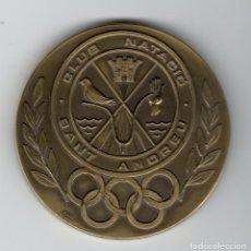 Trofeos y medallas: CLUB NATACIÓ SANT ANDREU - INAUGURACIÓ PISCINA OLÍMPICA PERE SERRAT 14 JUNY 1992. Lote 169452168