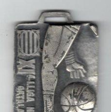 Trofeos y medallas: XI LLIGA NACIONAL CATALANA DE BASQUETBOL - 1990 / F.C.B.. Lote 169553256