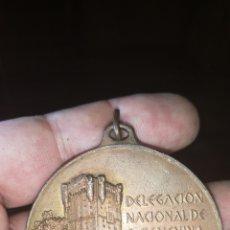 Trofeos y medallas: MEDALLA DELEGACIÓN NACIONAL SECCIÓN FEMENINA 1 TROFEO INTERNACIONAL NATACIÓN PILAR PRIMO DE RIVERA. Lote 170049321