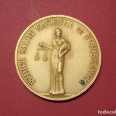 Trofeos y medallas: MEDALLA PRIMER SALON NACIONAL DE NUMISMATICA 1978 - ANE - BARCELONA... L72. Lote 170508388