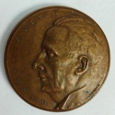 Trofeos y medallas: MEDALLA DE BRONCE. ASOCIACIÓN DE LOS AMIGOS DE MARCEL DUPRÉ. ESPAÑA 1970. Lote 170770220