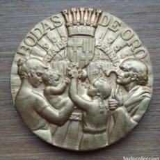 Trofeos y medallas: MEDALLA BODAS DE ORO DE LA CAJA DE PENSIONES.. Lote 171221313