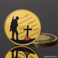 Trofeos y medallas: MONEDA CONMEMORATIVA DE LA 1ª GUERRA MUNDIAL. Lote 171229324
