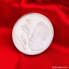 Trofeos y medallas: MONEDA CONMEMORATIVA DE ELVIS PRESLEY. Lote 171230200