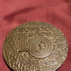 Trofeos y medallas: MEDALLA SOFICO. Lote 171626333