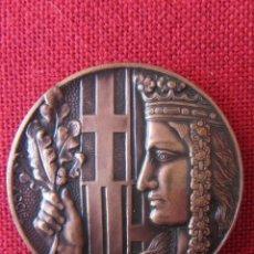 Trofeos y medallas: MEDALLA CONMEMORATIVA BARCELONA FAÇANA GOTICA CASA DE LA CIUTAT. Lote 171637039