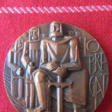 Trofeos y medallas: MEDALLA CONMEMORATIVA LLOBREGAT. Lote 171685192
