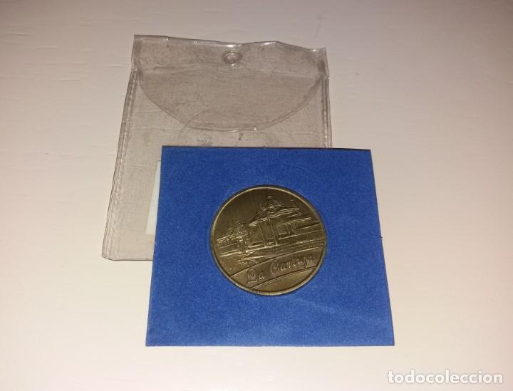 MONEDA/MEDALLA. EXPO SEVILLA 92, LA CARTUJA, CONMEMORATIVA (Numismática - Medallería - Trofeos y Conmemorativas)