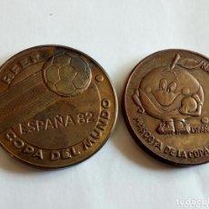 Trofeos y medallas: MEDALLAS CONMEMORATIVAS MUNDIAL DE FÚTBOL ESPAÑA 82 NARANJITO. Lote 172226237
