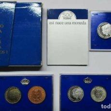 Trofeos y medallas: MONEDAS 500 PESETAS 1988 XXV ANIVERSARIO BODAS D. JUAN CARLOS Y Dª. SOFIA. Lote 173924195