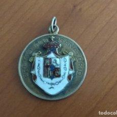 Trofeos y medallas: PRECIOSA E INTERESANTE MEDALLA PREMIO PRO SANATORIO (BENEFICIENCIA ESPAÑOLA, MÉXICO). Lote 173955980