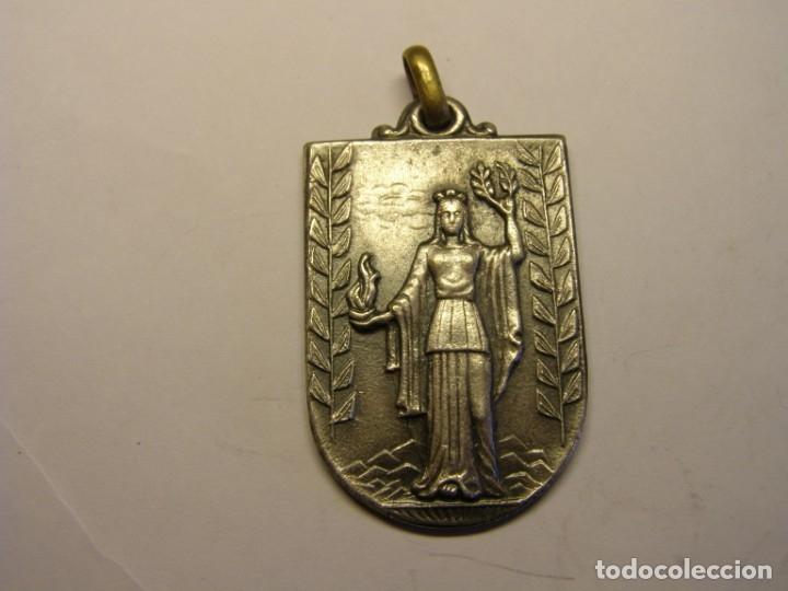 ANTIGUA MEDALLA ESCOLAR O DEPORTIVA. (Numismática - Medallería - Trofeos y Conmemorativas)