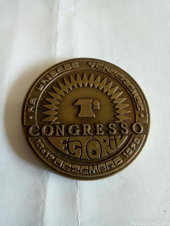 MEDALLA 1° CONGRESO ESTORIV 1978 (Numismática - Medallería - Trofeos y Conmemorativas)