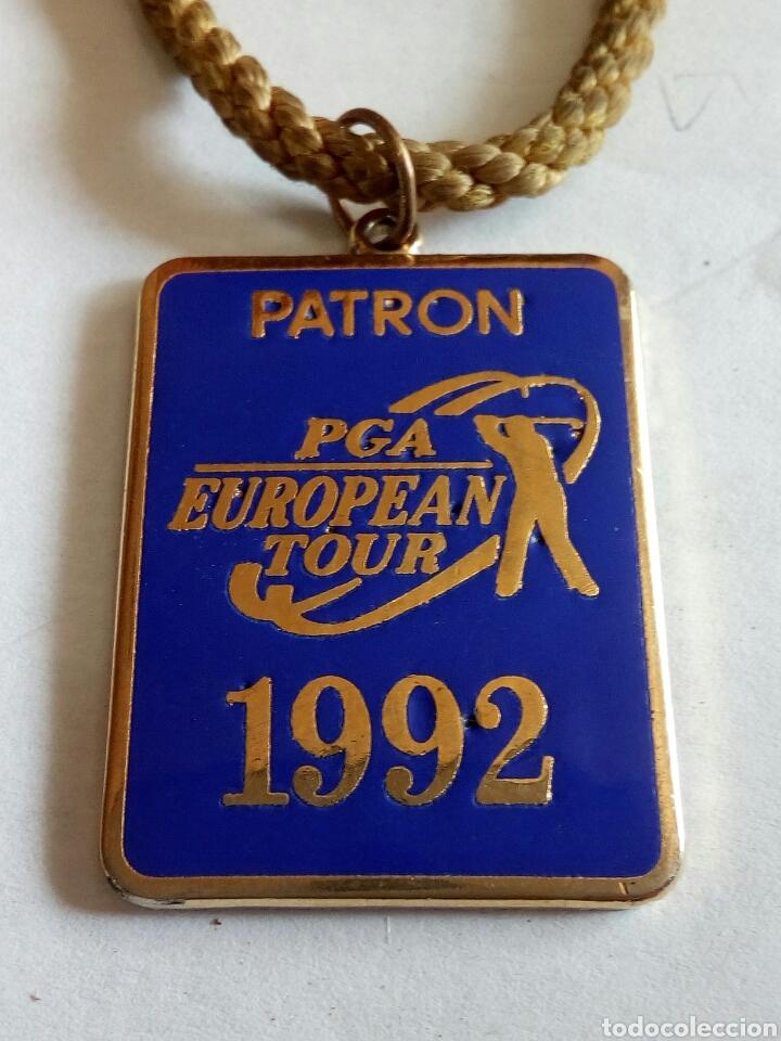 Trofeos y medallas: MEDALLA PATRON PGA EUROPEAN TOUR 1992 ESMALTADA - Foto 2 - 175205928