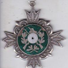Trofeos y medallas: BONITA MEDALLA DE CAZA ESMALTADA. Lote 175494214