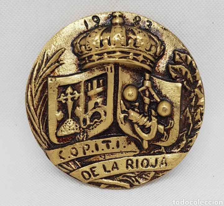MEDALLA CONMEMORATIVA - MILITAR - COPITI - LA RIOJA - CAR164 (Numismática - Medallería - Trofeos y Conmemorativas)
