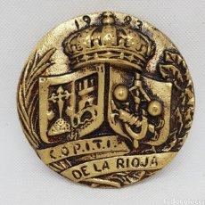 Trofeos y medallas: MEDALLA CONMEMORATIVA - MILITAR - COPITI - LA RIOJA - CAR164. Lote 176700175