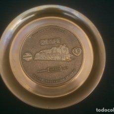 Trofeos y medallas: RENFE FIN DE LA TRACCION VAPOR TALLER CENTRAL DE REPARACION VALLADOLID . Lote 177406812