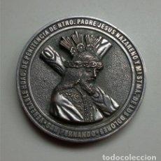 Trofeos y medallas: MEDALLÓN DEL 175 ANIVERSARIO DE LA REORGANIZACIÓN DE LA HDAD. DEL NAZARENO DE SAN FERNANDO (CÁDIZ). Lote 177451565