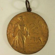 Trofeos y medallas: MEDALLA. XXIII CONGRES AGRICOLA LLEYDA. FEDEREACIO AGRICOLA CATALANA-BALEAR. 1920.. Lote 177577648