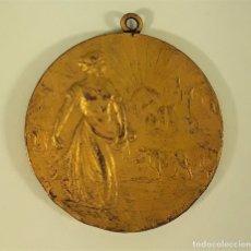 Trofeos y medallas: MEDALLA. XVI CONGRES AGRICOLA IGUALADA. FEDEREACIO AGRICOLA CATALANA-BALEAR. 1913.. Lote 177581232