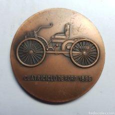Trofeos y medallas: MEDALLA. CUATROCICLO DE FORT 1896. DIAMETRO 50 MM/MM.. Lote 177732812