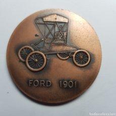 Trofeos y medallas: MEDALLA. FORT 1901. DIAMETRO 50 MM/MM.. Lote 177733203