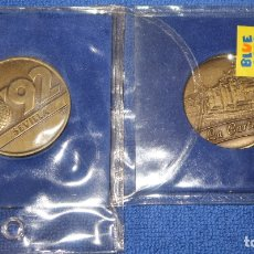 Trofeos y medallas: PABELLÓN DEL SIGLO XV - EXPO 92 - SEVILLA - BLUE COW (1992). Lote 177758213