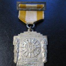 Trofeos y medallas: MEDALLA AL MÉRITO ESCOLAR 1950 - COLEGIO DE JESUITAS. Lote 178657372