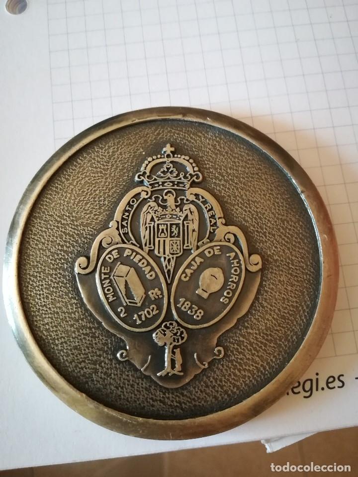 MEDALLÓN CONMEMORATIVO CAJA DE AHORROS Y MONTE DE PIEDAD DE MADRID (Numismática - Medallería - Trofeos y Conmemorativas)
