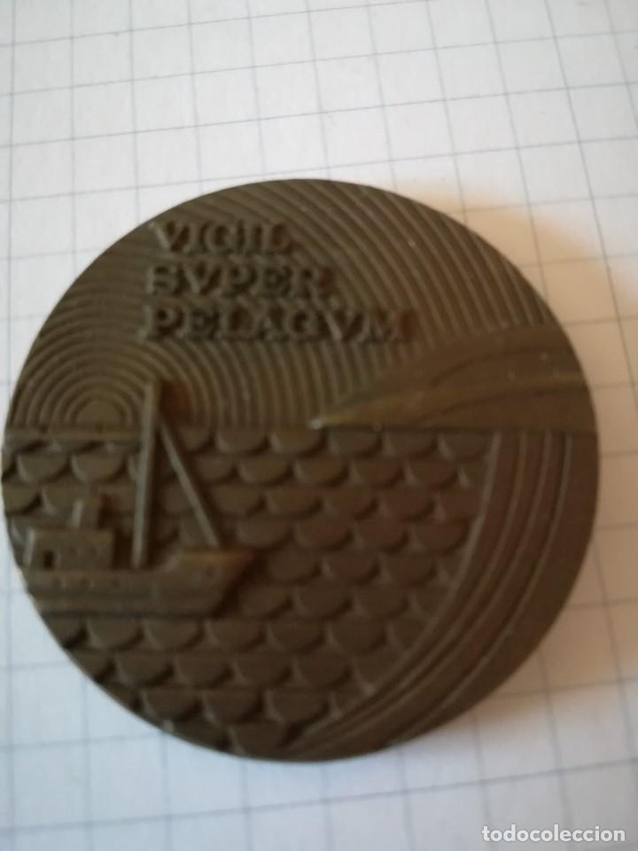 MEDALLÓN BRONCE CONMEMORATIVO DE TELEFONICA. 1977 (Numismática - Medallería - Trofeos y Conmemorativas)