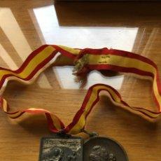 Trofeos y medallas: ANTIGUAS MEDALLAS ESPAÑOLAS. Lote 179009922