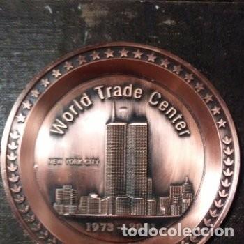 Trofeos y medallas: Medalla / Plato World Trade Center New York City 1973-2001 - Foto 2 - 180187937