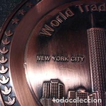 Trofeos y medallas: Medalla / Plato World Trade Center New York City 1973-2001 - Foto 3 - 180187937