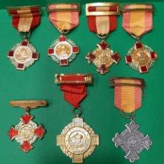 Trofeos y medallas: LOTE DE 7 MEDALLAS, PREMIO AL MÉRITO, DE COLEGIO.. Lote 180481346