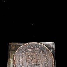 Trofeos y medallas: MONEDA CONMEMORATIVA INAGURACION BANCO DE ALICANTE 1972. Lote 181146625