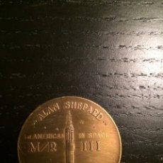 Trofeos y medallas: MONEDA CONMEMORATIVA PROYECTO MERCURIO (PROJECT MERCURY) NASA.. Lote 181401533