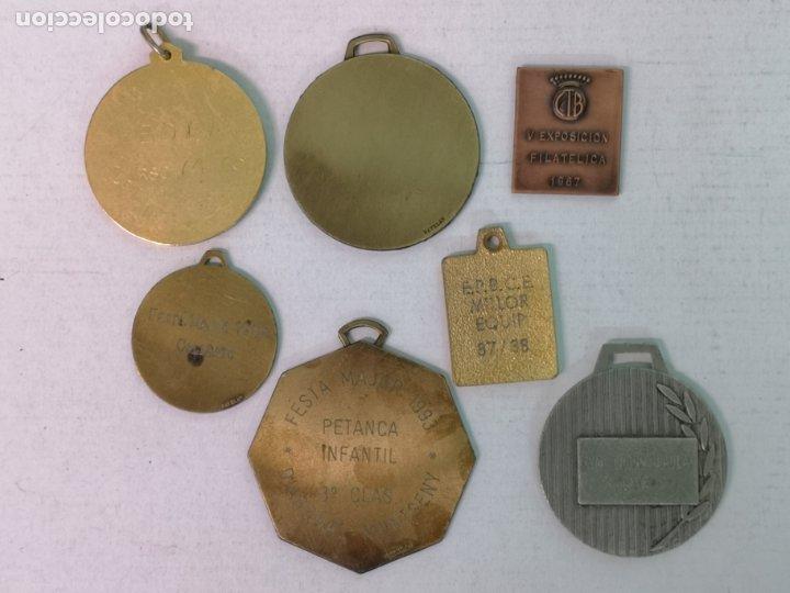 Trofeos y medallas: 7 MEDALLAS DE VARIOS DEPORTES - Foto 2 - 181468026