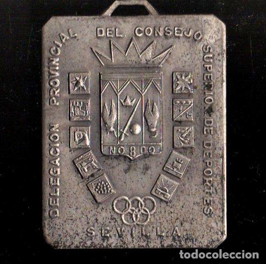 MEDALLA DEPORTIVA. MEDALLA-065 ,2 (Numismática - Medallería - Trofeos y Conmemorativas)