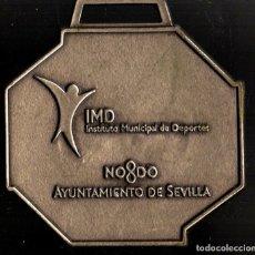 Trofeos y medallas: MEDALLA DEPORTIVA. XXIV MARATÓN CIUDAD DE SEVILLA. 2008. MEDALLA-071. Lote 183309760