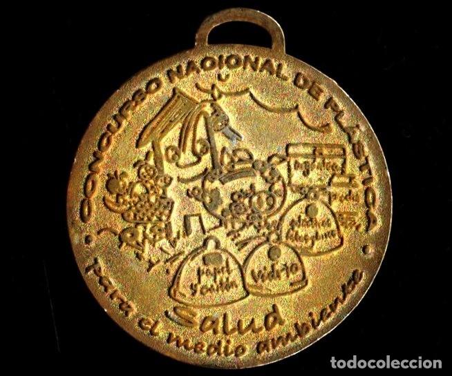 Trofeos y medallas: MEDALLA DEPORTIVA WWF. MEDALLA-073 ,2 - Foto 2 - 183314653