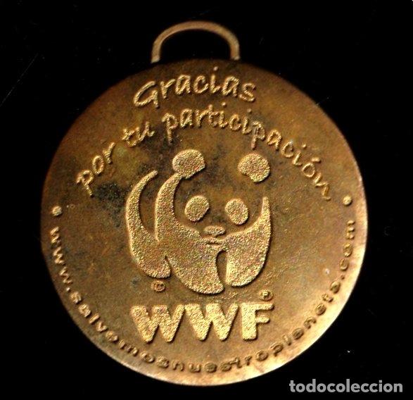 MEDALLA DEPORTIVA WWF. MEDALLA-073 ,2 (Numismática - Medallería - Trofeos y Conmemorativas)
